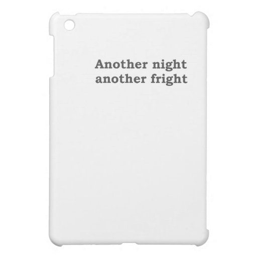 Another night another fright cover for the iPad mini