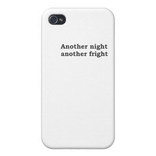 Another night another fright iPhone 4/4S case