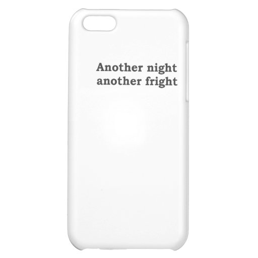 Another night another fright iPhone 5C covers
