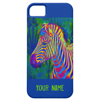 another psychedelic zebra barely there iPhone 5 case