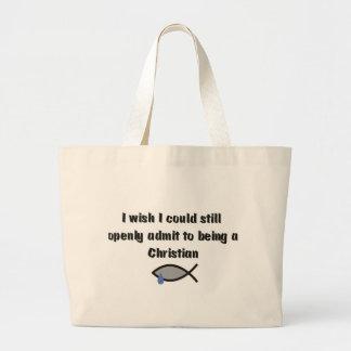 Another Secret Christian Canvas Bags