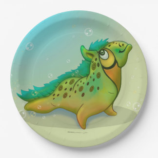 ANOUK CUTE ALIEN PAPER PLATE 9 inches MONSTER