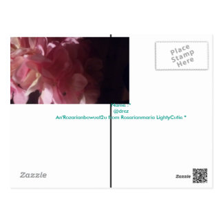 An'Rozarianbowuet2u from Rosarianmaria LightyCutie Postcard