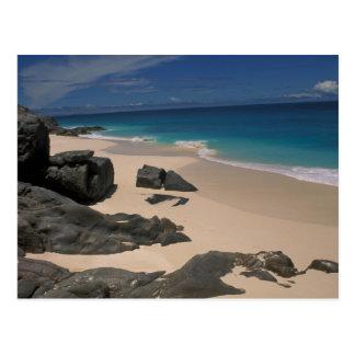 Anse bamboo; Fregate Island; Seychelles Postcard