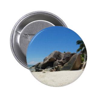 anse source d'argent 6 cm round badge