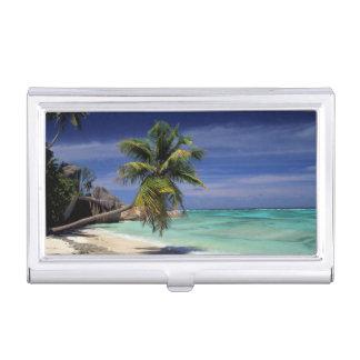 Anse Sourse D'Argent Beach, La Digue Business Card Holder