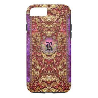 Anseleen Girly Elegant Romantic Monogram iPhone 8/7 Case
