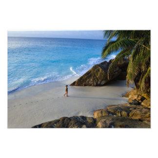 Ansi Victorin Beach, Fregate Island Photo Art