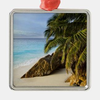 Ansi Victorin Beach Silver-Colored Square Decoration