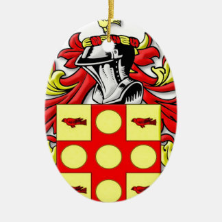 Anstey Coat of Arms Christmas Tree Ornaments