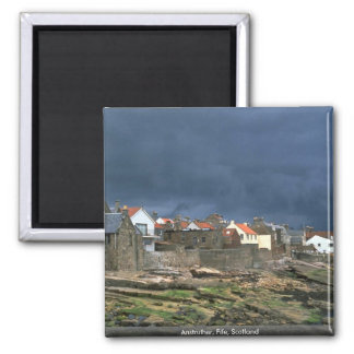 Anstruther, Fife, Scotland Square Magnet