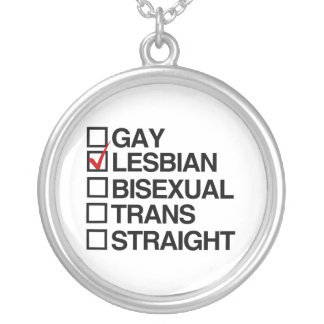 ANSWER LESBIAN CUSTOM NECKLACE