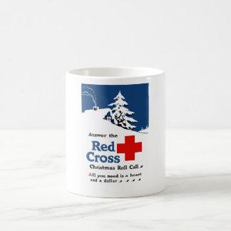 Answer The Red Cross Christmas Roll Call Basic White Mug
