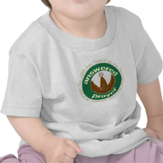 Answered Prayer Christian baby t-shirt