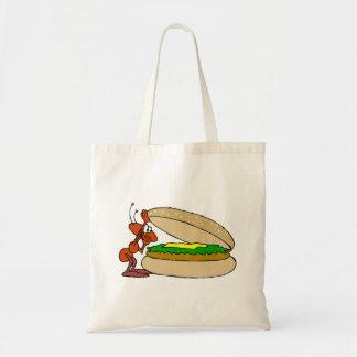 Ant And Cheeseburger Tote Bag