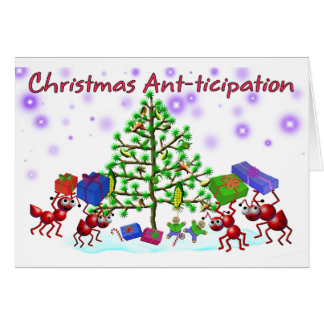 ant Christmas card
