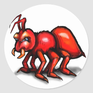 Ant Classic Round Sticker