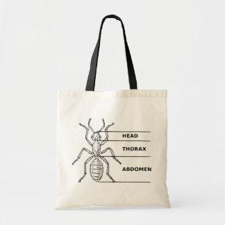 Ant Diagram Budget Tote Bag