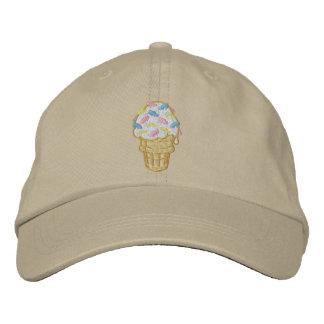 Ant Ice Cream Embroidered Cap