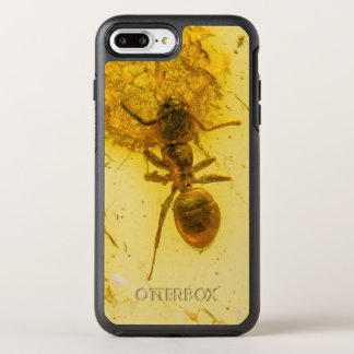 Ant in amber stone | OtterBox symmetry iPhone 7 plus case