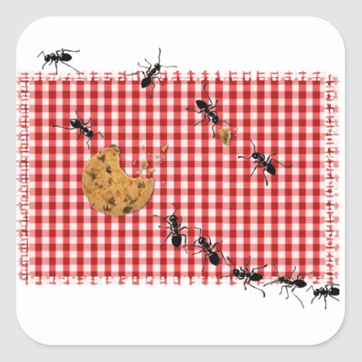 Ant Picnic Stickers