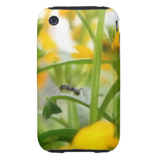Ant Portrait With Siberian Wallflowers iPhone 3 Tough Case