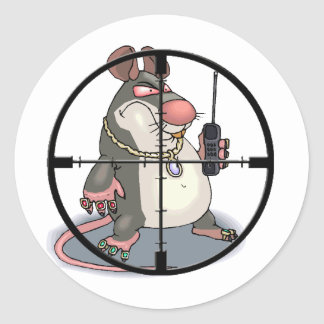 Ant-Snitch Scope Sight Sticker