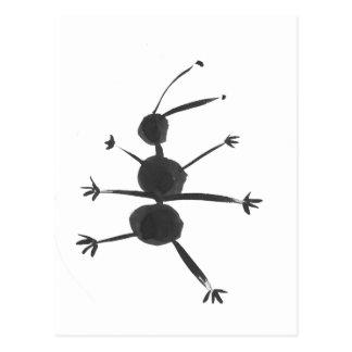 ANT SPRAWLED POSTCARD