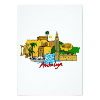 Antalya - Turkey Card