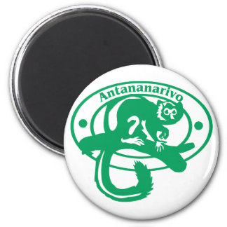 Antananarivo Stamp Magnet