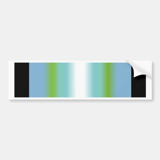 Antarctic Service Ribbon Bumper Sticker
