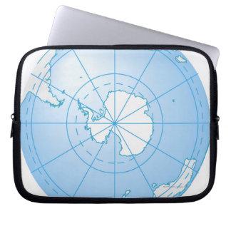 Antarctica 2 laptop sleeve