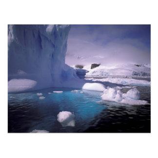 Antarctica. Antarctic icescapes 2 Postcard