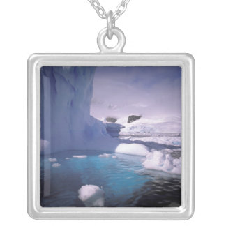 Antarctica. Antarctic icescapes 2 Silver Plated Necklace