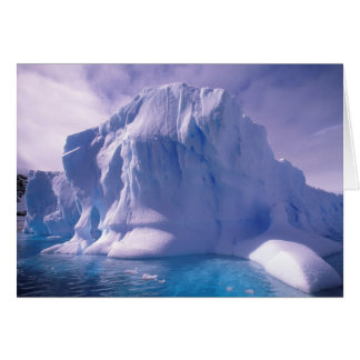 Antarctica. Antarctic icescapes Card