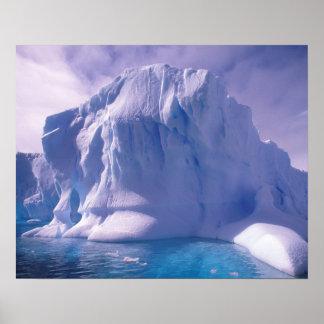 Antarctica. Antarctic icescapes Poster