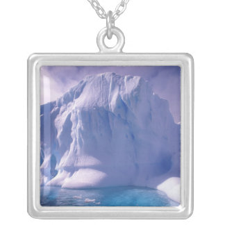 Antarctica. Antarctic icescapes Silver Plated Necklace