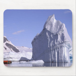 Antarctica, Antarctic Peninsula. Zodiak and Mouse Mat