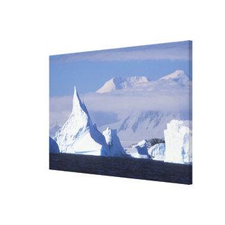Antarctica, Boothe Island, Afternoon sun Canvas Print