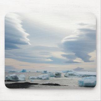 Antarctica. Brown Bluff. Lenticular clouds Mouse Mat