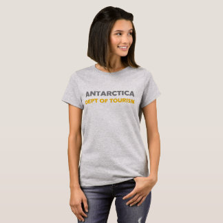 Antarctica Department Tourism fun shirt