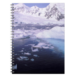 Antarctica. Expedition through icescapes Notebook