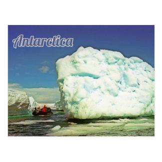 Antarctica explorer postcard