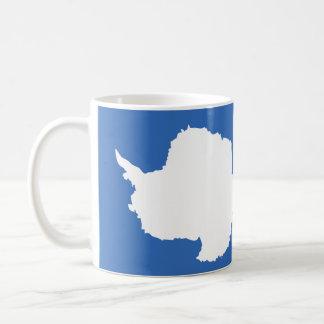 Antarctica Flag Basic White Mug