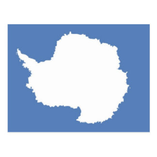 Antarctica Flag Postcard