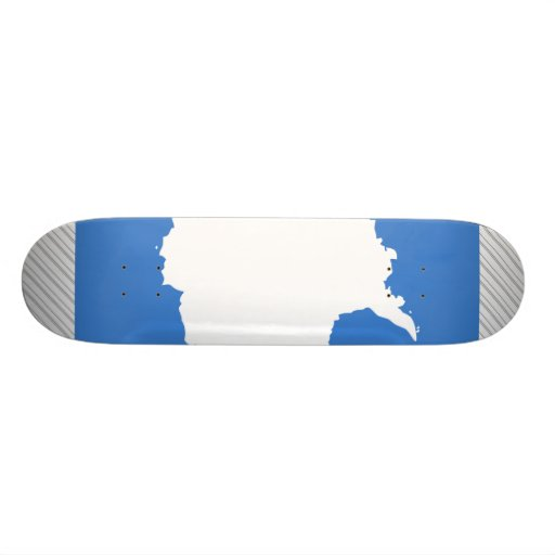 Antarctica Flag Skate Deck