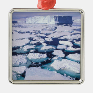 Antarctica, Ice flow. Christmas Ornament