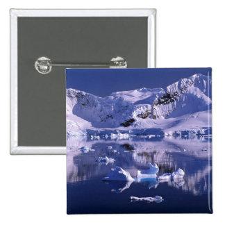 Antarctica, Paradise Bay 15 Cm Square Badge