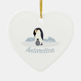 Antarctica Penguins Christmas Ornament
