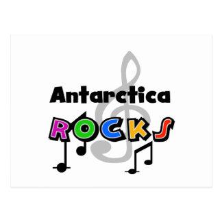 Antarctica Rocks Postcard